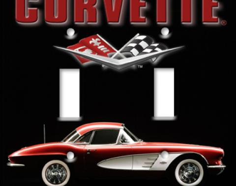 1961 Corvette Switchplate