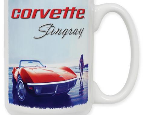 Beach Vette Coffee Mug