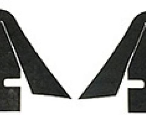Corvette Inner Skirt Dust Shields, 1968