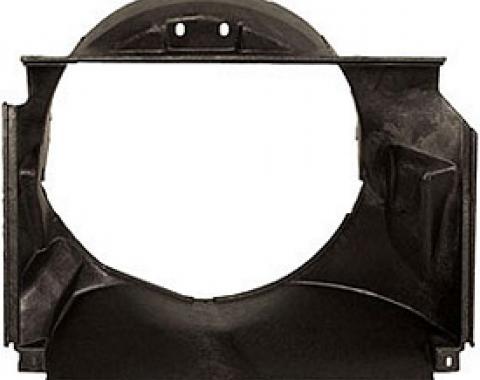 Corvette Fan Shroud, Small Block, Plastic, 1969-1972