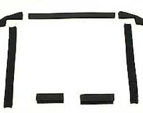 Corvette Radiator/Fan Shroud Seal Kit, L48, Without Air Conditioning, 1979