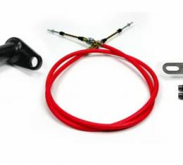"""ididit Cable Shift Linkage, 2"""" ididit Column to 727 & 904 Trans 2801700010"""