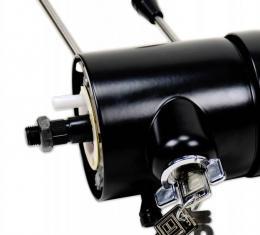 "ididit Universal 33 1/4"" 9-bolt Tilt/Tele, Floor Shift w/Ignition, Black Powder Coat 1580300051"