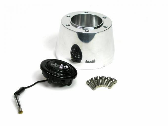 ididit Steering Wheel Adaptor, 6 Bolt, Nardi Chrome 2202340020