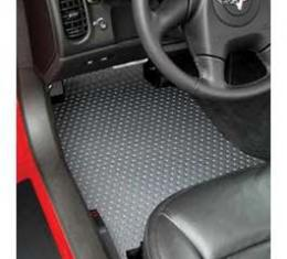 Corvette Floor Mats, 2 Piece Lloyd® Rubbertite™, Late 2007-2013 Early