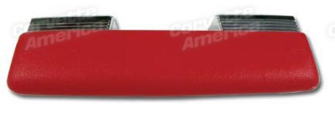 Corvette Armrest, Red (35), 1962-1964