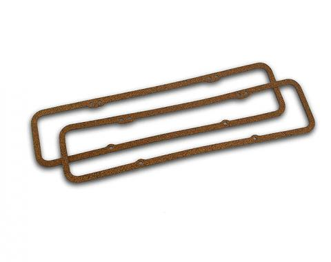 Corvette Valve Cover Gaskets, Cork, 1956-1986 Early