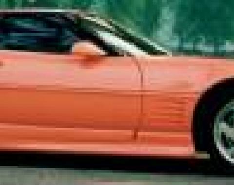 Corvette Ground Effects Kit, Motorsport 7 Piece, 1984-1990