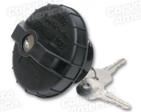 Corvette Gas Cap, Locking, 1975-1996