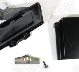 Corvette Battery Tray Kit, Without Air Conditioning, 1967