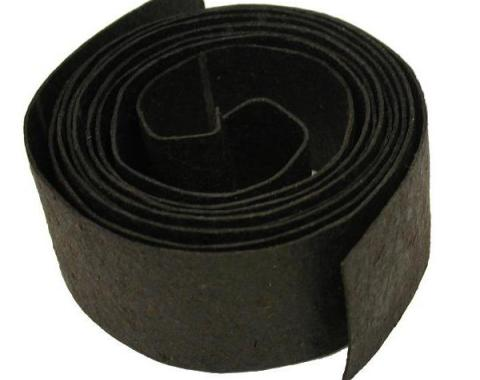 Corvette Gas Tank Strap Pads, Anti-Squeak, 1968-1977