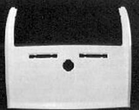 Corvette Rear End Upper Deck, Convertible, ACI, 1978-1982