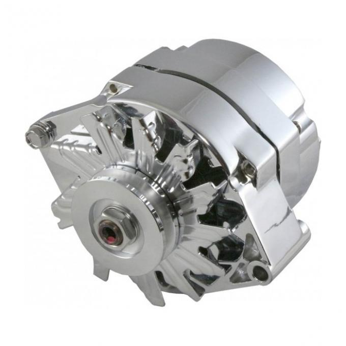 Corvette Alternator, 140 Amp Chrome, 1969-1982