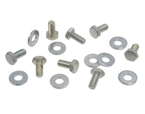 Corvette Hood Lock Bolt Kit, Male, 1953-1962