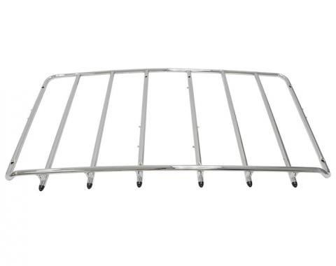 Corvette Luggage Rack 8-Hole Chrome, 1968-1977