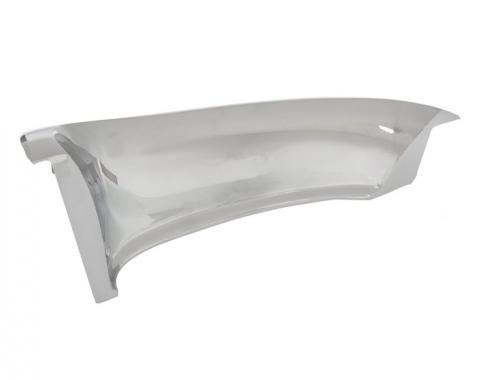 Corvette Grille Molding, Upper, Left, 1958-1962