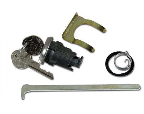 Corvette Trunk Lock, With Keys, 1959-1962