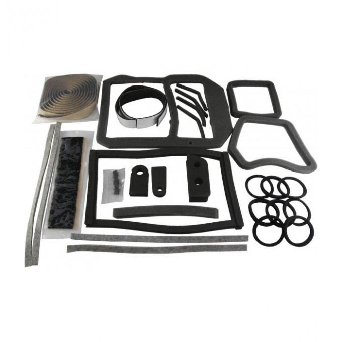 Corvette Air Conditioning/Heater Case Seal Kit, 1968-1977