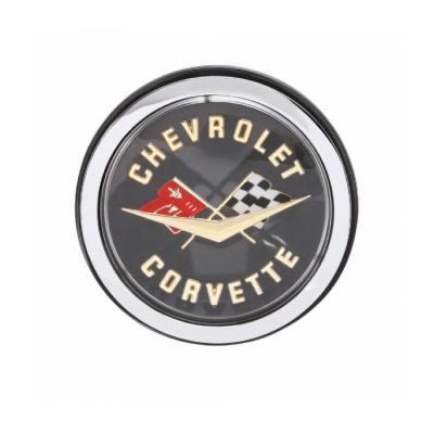 Trim Parts 62 Corvette Gold Rear Emblem Assembly, Each 5087A