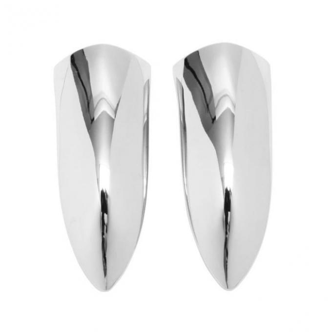 Trim Parts 61-62 Corvette Headlight Bezel Extension, Pair 5097