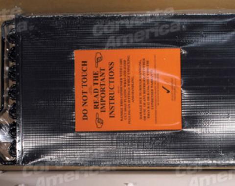 Corvette Air Conditioning Condenser, Excluding 1988, 1986-1989