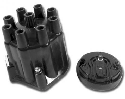 Corvette Distributor Cap & Rotor Kit, Replacement, 1958-1974