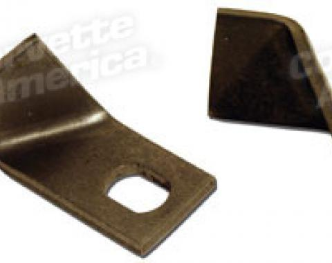 Corvette Rear Brake Line Block Brackets, 1963-1982