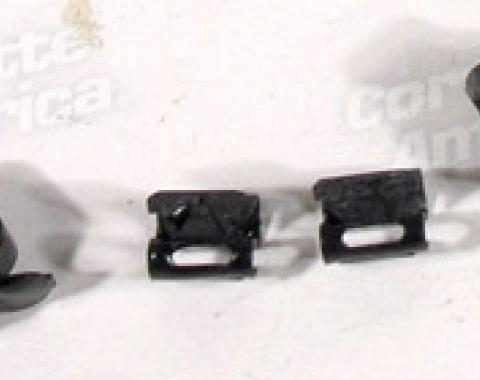 Corvette Horn Wire S-Clips, 5 Piece Set, 1963-1965