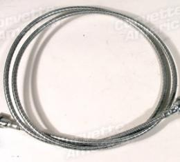 """Corvette Tach Cable, With Steel Case 60"""", 1958-1959"""