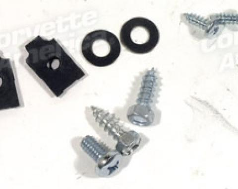Corvette Trunk Lid Latch Mount Kit, 1956-1960
