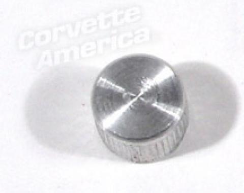 Corvette Air Conditioning STV/POA Valve Cap, Aluminum-Original, 1963-1972