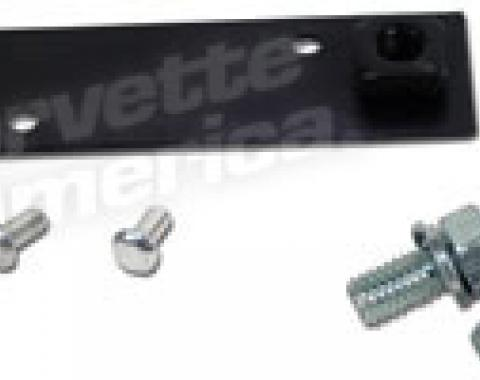 Corvette Power Brake Booster Mounting Bracket, with Bolts & Rivets, 1963-1967