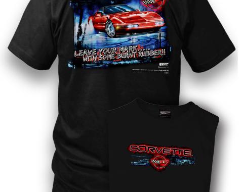 Corvette Shirt, C4 Leave Your Mark