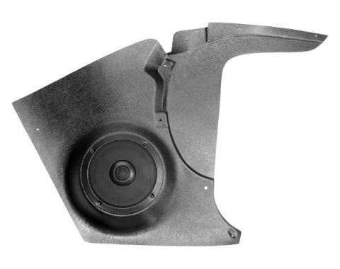 Custom Autosound Corvette Kick Panels with 80 Watt Speakers, 1958-1962