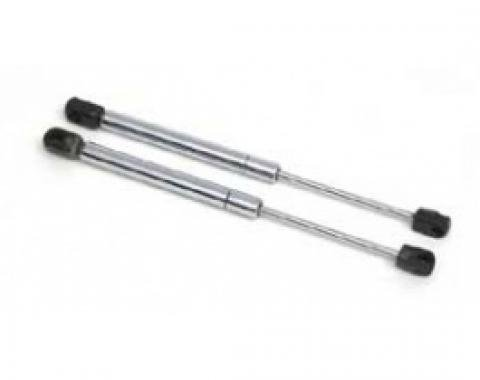 Corvette Trunk Struts, Convertible/Fixed Roof Coupe, Chrome, 1998-2013