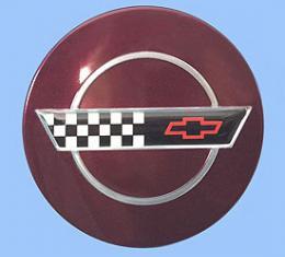 Corvette Wheel Center Cap, Anniversary, 1993