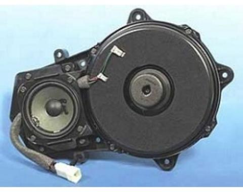 Corvette Speaker, With Amplifier, Front Door Replacement, Bose, AC Delco, 1997-2004