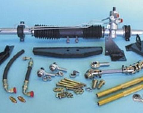 Corvette Steeroids Rack & Pinion Conversion Kit, Small Block/Big Block with Manual Steering, 1967-1979