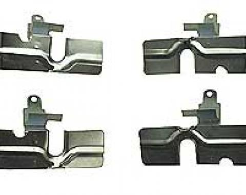 Corvette Spark Plug Wire Shields, Small Block, 1957-1979