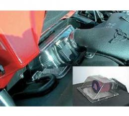 Corvette Cold Air System, BPP Vortex Rammer, With Black Cover, 2001-2004