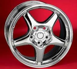 "Corvette ZR1 Style Wheel, Reproduction, 17"" x 9.5"" x 54mm, 1988-1996"