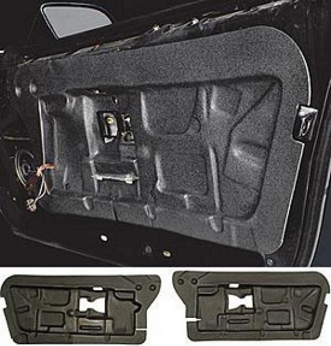 """1984-1996 Corvette Quiet Ride Solutions """"Whisper Quiet"""" Door Panel Insulators Left & Right"""