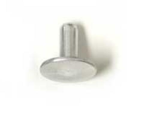 """Soft Aluminum Rivet, 3/16"""" Diameter Head x 7/16"""" Long, 1963-1979"""