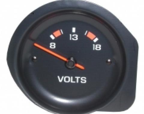 Corvette Volmeter Gauge, 1977