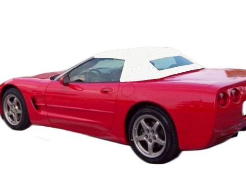 Kee Auto Top CD1048WC53SP Convertible Top - Bright white, Vinyl, OE Replacement, Direct Fit