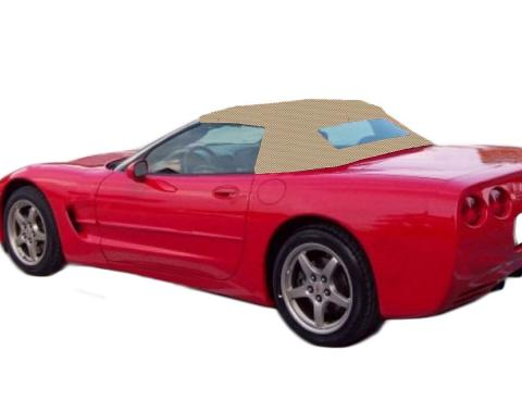 Kee Auto Top CD1093WC05SP Convertible Top - Dark tan, Vinyl, Direct Fit