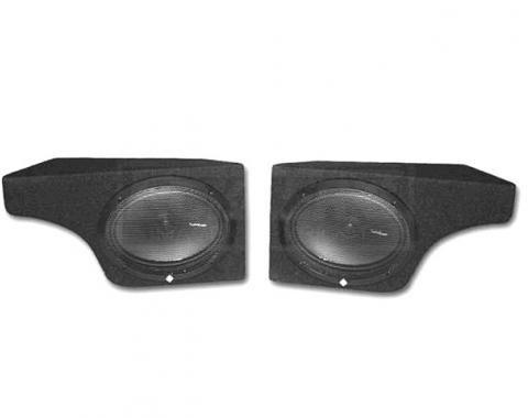 Corvette Audiophile Plus Speaker System, with Speakers, 1978-1982