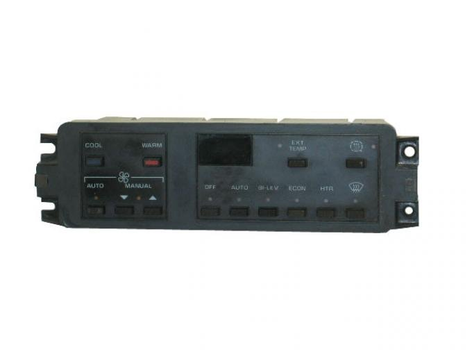 Corvette Heater/AC Climate Control with Defrost, Electronic, Remanufactured, 1984-1989