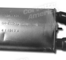 Corvette Muffler, Left ZR1, 1990