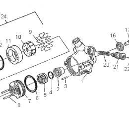 Corvette Power Steering Pump Shaft Seal, 1984-1985